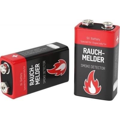 Ansmann 9V batterij (blok) 2 stuks