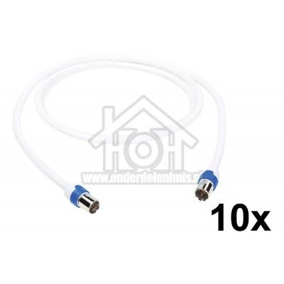 Foto van Hirschmann Aansluitkabel CATV aansluitkabel F male connector F-FKAB 5/1,5m 695021508
