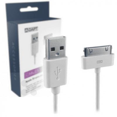 Foto van Apple 30-pins kabel 1M