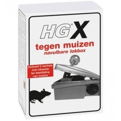 Foto van HGX muizen lokbox (Toelatingsnummer Nederland:NL-0018191-0000)