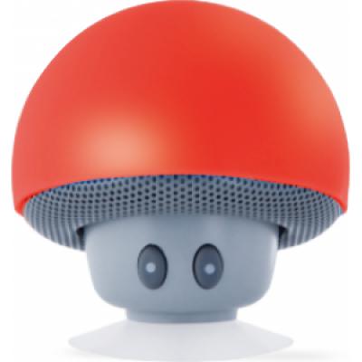 Foto van Paddestoel bluetooth speaker rood