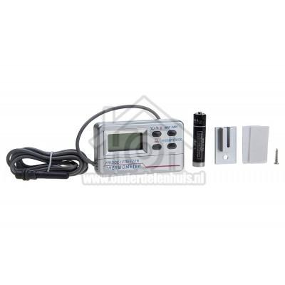 Foto van Universeel Thermometer Digitaal met alarm signaal, -50 tot +70 graden Diepvriezers,