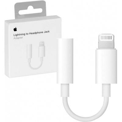 Foto van Apple Lightning to 3.5 mm Jack orgineel