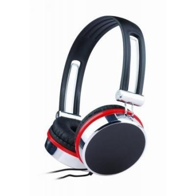 Foto van Headset zwart-rood MHS-903