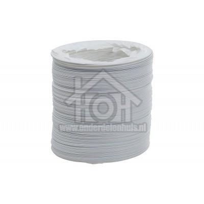 Foto van Easyfiks Slang Lucht 100 mm wit PVC 3m SM2066