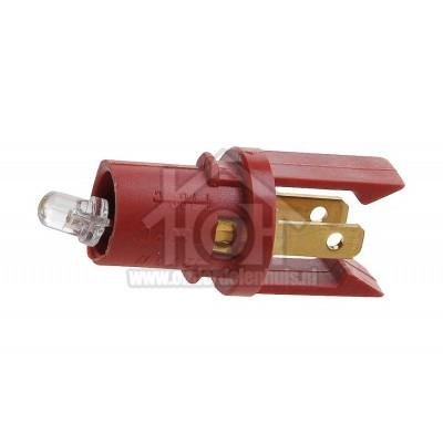 Foto van Miele Lampje Controle lampje 12V 1W H806, H809, SGF83Z 9481010