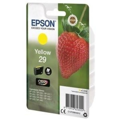 Foto van Epson 29 yellow Strawberry