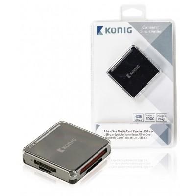 Kaartlezer Alles-in-1 USB 2.0