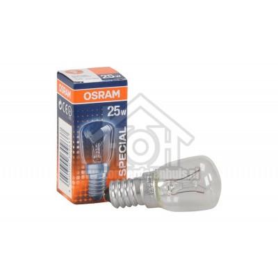 Foto van Osram Gloeilamp Special koelkastlamp T26 25W 230V E14 190 Lumen 4050300309637