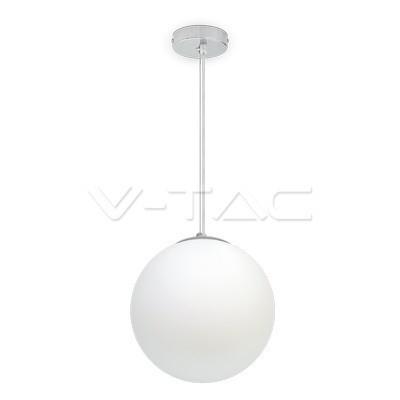 Hanglamp chroom bol met E27 fitting