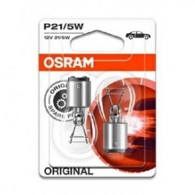 Foto van Osram autolamp P21/5W 12V BAY15d