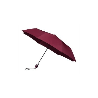Opvouwbare paraplu bordeaux (windproof)