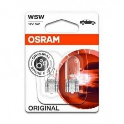 Foto van Osram autolamp W5W 12V T10