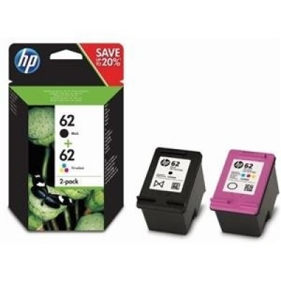 HP 62 2-pack Black / Tri-color