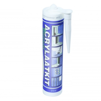 Foto van Acrylaat kit wit 310ml