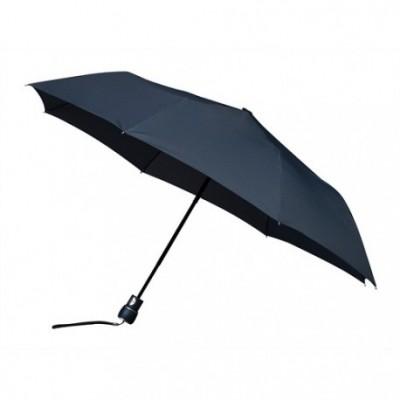 Foto van Opvouwbare paraplu donkerblauw (windproof)