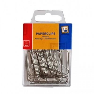 Paperclips 50x10mm 30 stuks