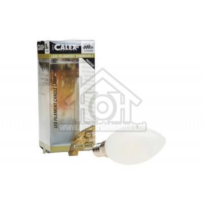 Foto van Calex Ledlamp Filament Kaarslamp 240V 3,5 Watt 300 Lumen 2700K E14 B35 Mat Dimbaar 474492