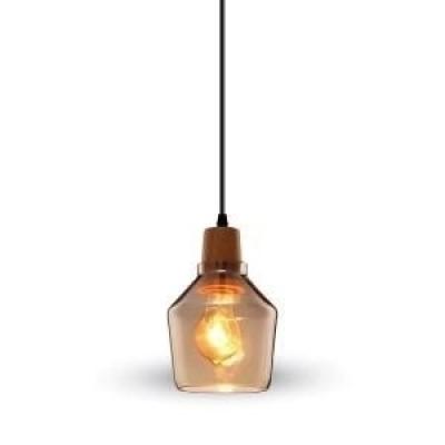 Hanglamp helder glas 135 met E27 fitting