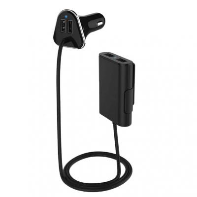 USB autolader 4-poort 9.6A