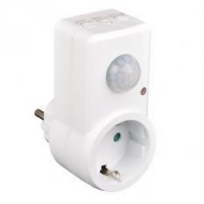 Foto van Stekker met bewegingsmelder / Stekker met infrarood sensor
