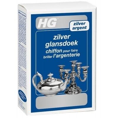 Foto van HG zilver glansdoek