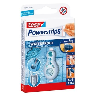 Foto van TESA 1Power-Strips waterproof