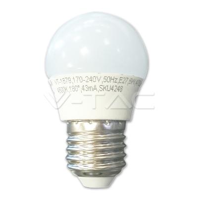 Foto van LED Kogel E27 5.5=40W