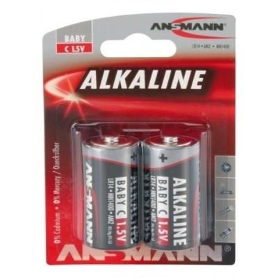Foto van Alkaline C-batterijen