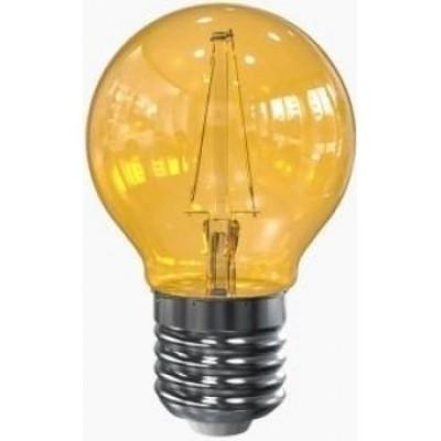 LED filament E27 geel 2 w