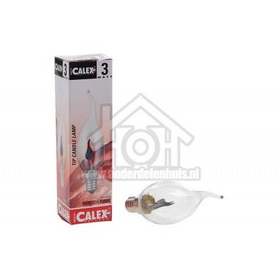 Foto van Calex Gloeilamp Tip-Kaarslamp 240V 3 Watt 5 Lumen 2000K E14 BXS35 Flickervlam 439636