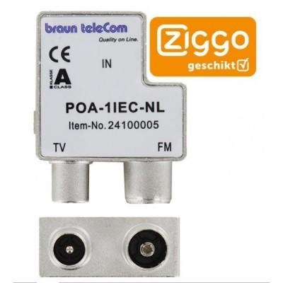 Radio TV verdeler POA 1 IEC-NL