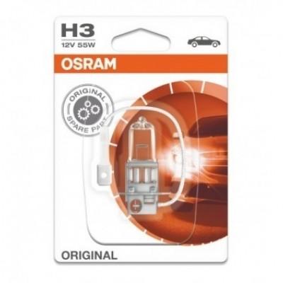 Foto van Osram autolamp H3 12V 55W