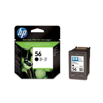 Foto van HP 56 INKT ZWART