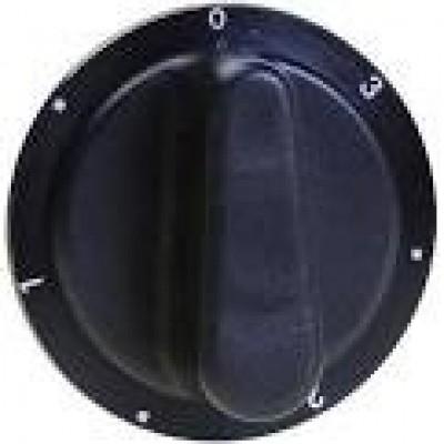 Pelgrim Knop 7 standen knop, zwart 35708