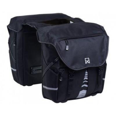 Foto van Wiilex Dubbele Bagagetas XL 1200 Zwart