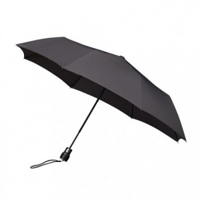 Opvouwbare paraplu donkergrijs (windproof)