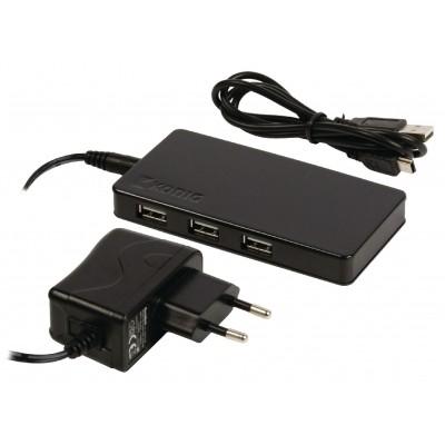 Kaartlezer Combo USB-Hub USB 2.0