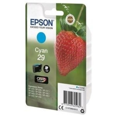 Foto van Epson 29 cyan Strawberry