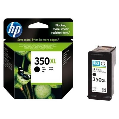 Foto van HP 350XL INKT ZWART VIVERA