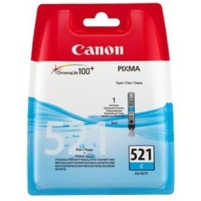 Foto van CANON CLI-521C INKT CYAN
