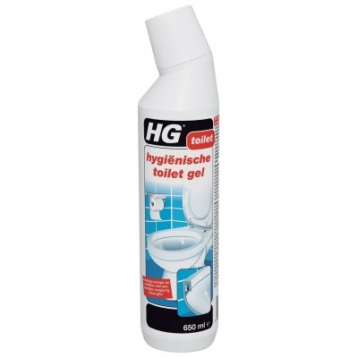 Foto van HG hygienische toiletgel 0.6L