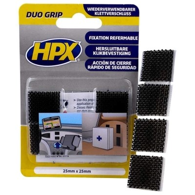 HPX Duo Grip klikbband pads