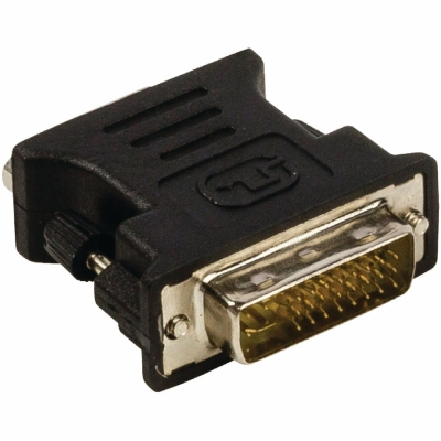 Foto van DVI Male - VGA adapter Female