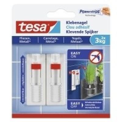 Foto van Tesa verstelbare Klevende Spijker tegels & metaal 3 kg