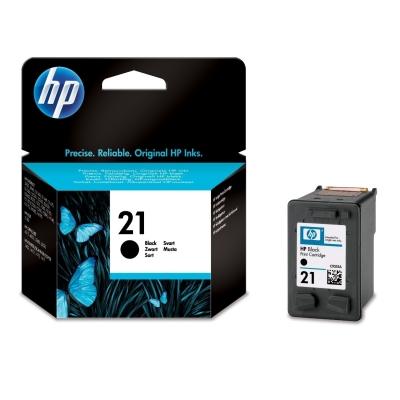 Foto van HP 21 INKT ZWART
