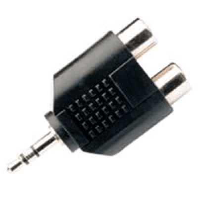 3,5mm Jack Stereo M - 2x RCA F