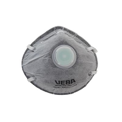 Stofmasker FFP2 CARB.+VENT. 2x