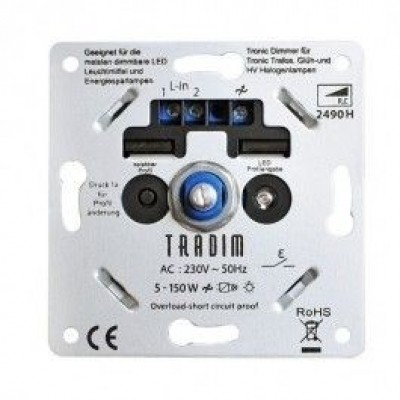 Led Dimmer Tradim 5-150 Watt