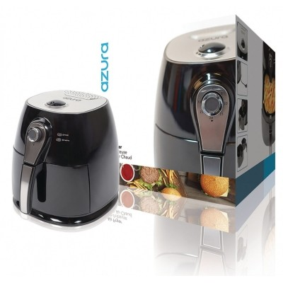 Air Fryer 1400 W 3 l Zwart